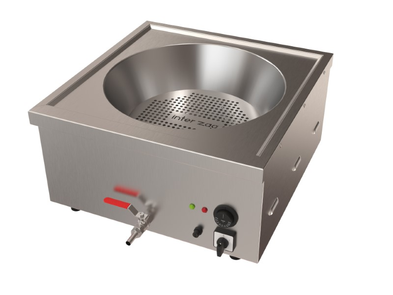 Electric Round Fryer